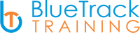 Blue Track Training Logo